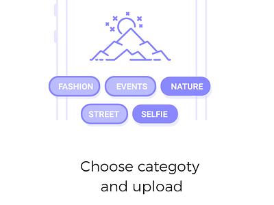 Snaplee App Interaction startup login website design gif animation walkthrough photo sharing snap ux ui