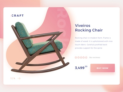 Product Detail Page landing page webdesign uidesign web mobile marketing home furniture design decor