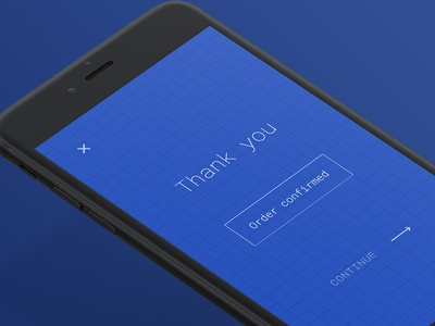Thank You - Daily UI #77