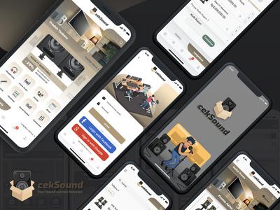 Sound System Marketplace App