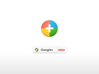 Google Plus button google plus counter