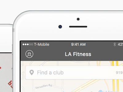 Gym App Redesign prototype framer user interface mobile redesign app fitness ios