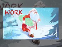 Santa Claus's Day at Work