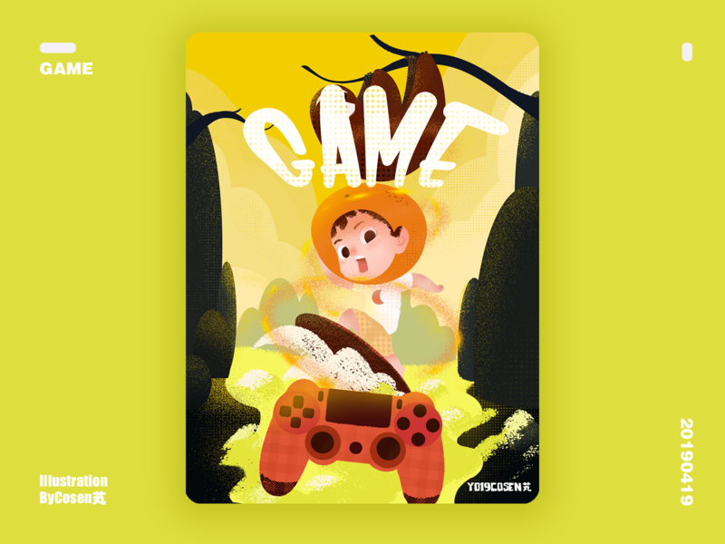主题:游戏 illustration