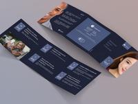 eKYC tri-fold square leaflet