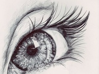 Amazing Artwork Beautiful Creative eye Deep Favim.Com 303369