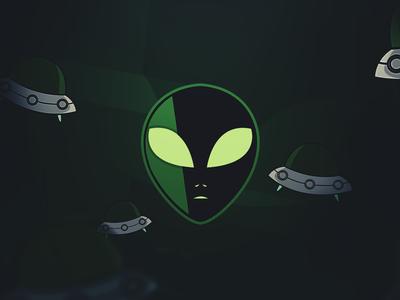 Alien mascote