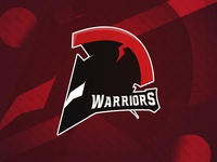 Warriors Mascot design