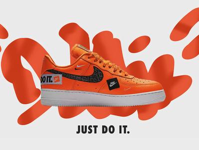 Nike ad creation