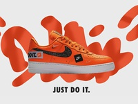 Nike ad creation