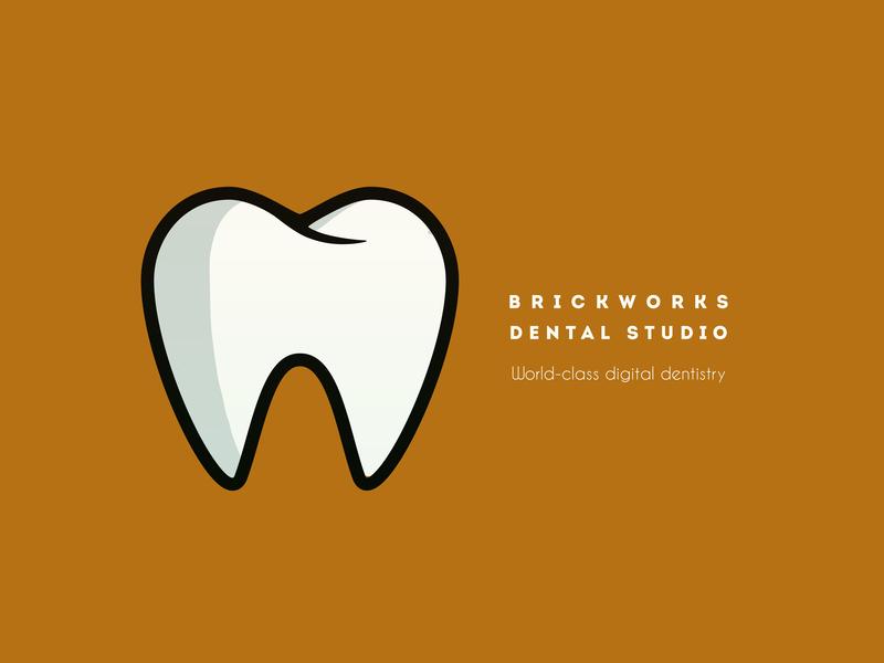 Dentist logo typography logo alphabet vector youtube illustration minimal fresh colors branding logo modern design