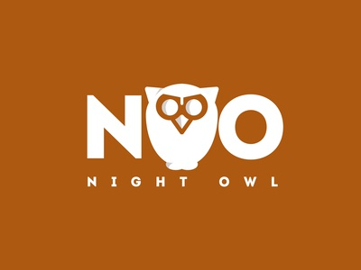 Owl oil product logo Design