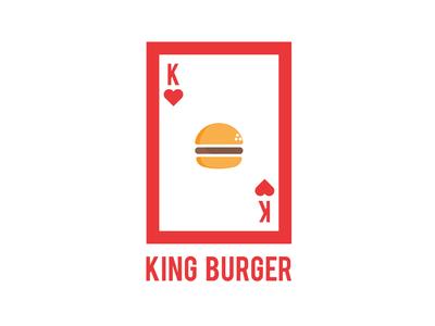 KING BURGER LOGO