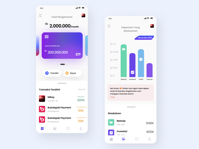 financial arrangements app concept typography invest money financial plan financial concept app ux ui design