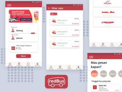 Redesign App Redbus