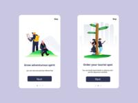 UI Onboarding Concept
