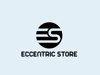 Eccentric Store logo | Minimalist Logo