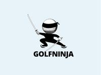 Golf Ninja logo | Custom Logo