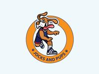 Jocks & Pups logo | Minimalist Logo