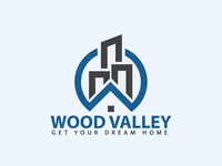 Wood valley Logo | Custom logo