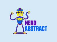 Nerd Abstract LLC Logo | Custom logo