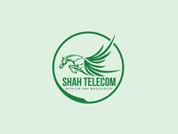 Shah Telecom logo | Custom logo