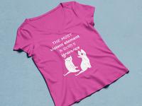 Custom T-shirt | Ladies T-shirt