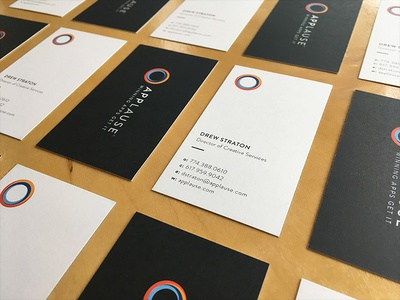 Applause Business Cards