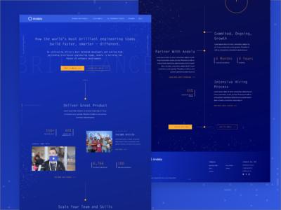 Andela Homepage