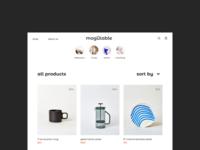 Mogutable — Catalog page