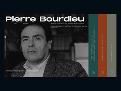 Bibliothèque de Sociologie – Library Site Concept motion design design ebook ebook design book library grid animation ux ui mainpage ux design ui design