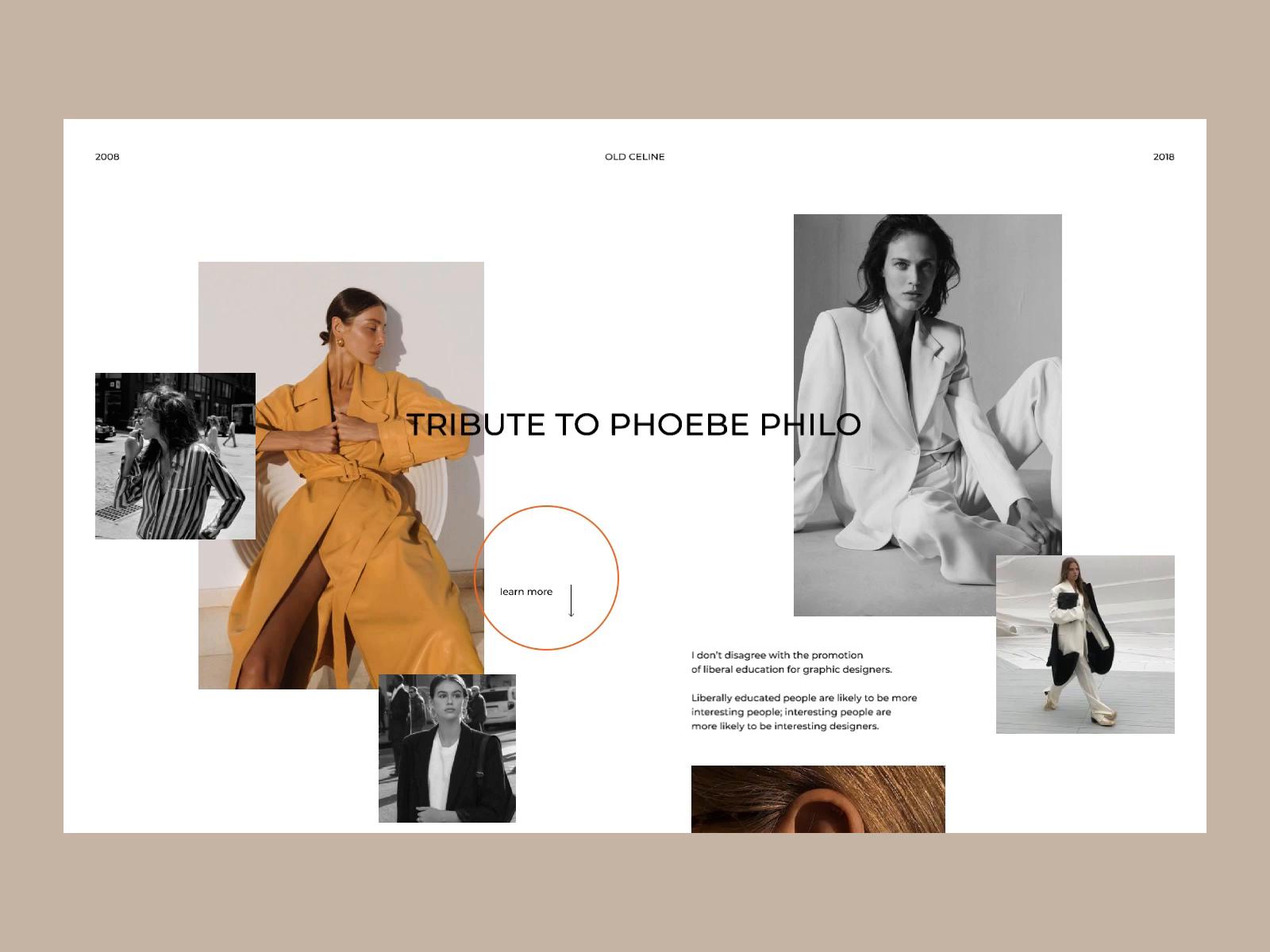 Celine Fashion Cite Concept By Daria Lisovenko For Ssa Design On Dribbble
