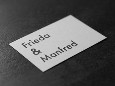 Frieda & Manfred