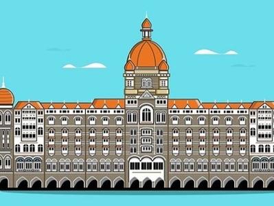 Taj Mahal Palace Hotel . Mumbai.