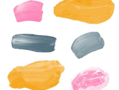 Brush Stroke Stamps Procreate Brushes