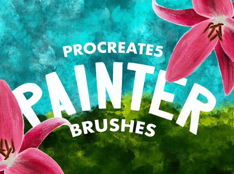 Procreate 5: Painter Brushes