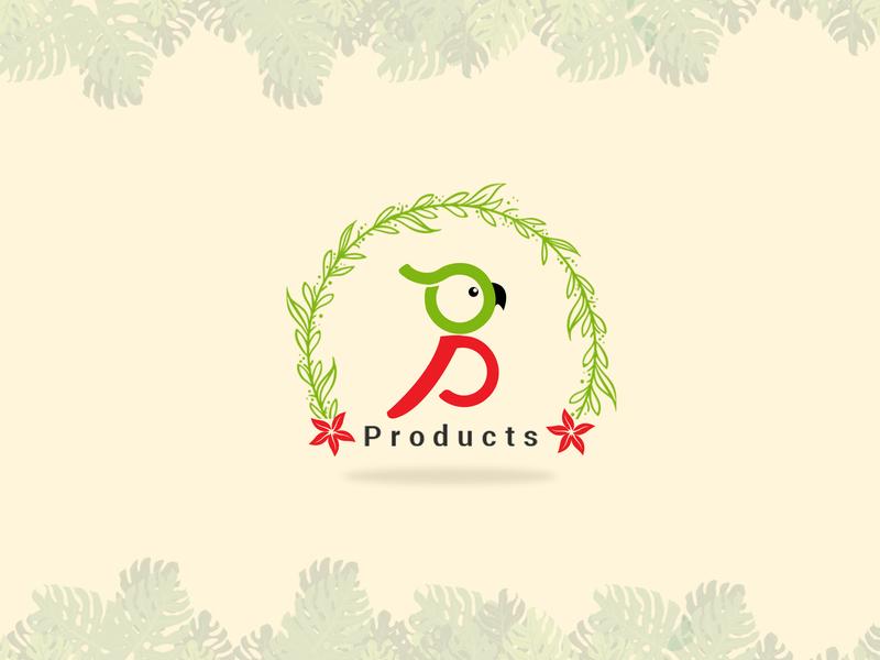 Organic Business Logo design illustration 2d art branding logo vector