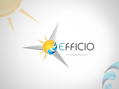 Wind Turbine Business Logo Design