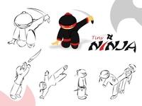 Making Tiny Ninja Poses