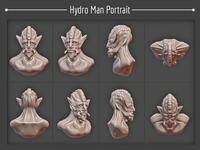 Hydro Man Portrait