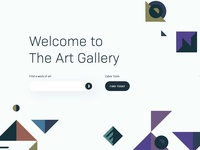 Concept design of a search engine for Art Gallery