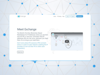 Landing page for a launch of new project