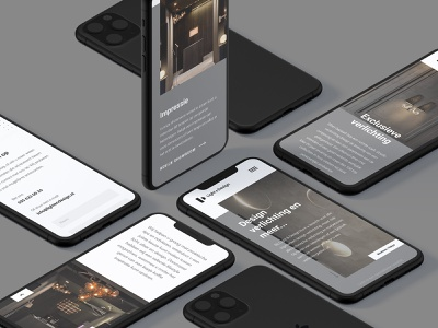 Light & Design - Website mobile design webdesigner responsive design exclusive lighting black  white clean ui clean webdesign minimal logo ux ui design branding