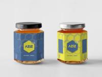 Aziz Natural Honey Brand