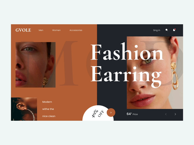 Ecommerce Web UI typography coloful creative web buy ecommerce ui ux minimal design