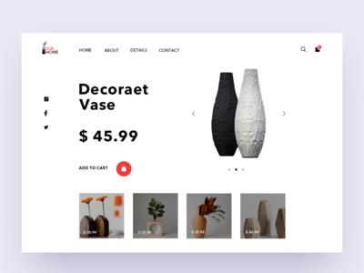 Furniture shop UI