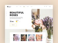 Flowers Website UI