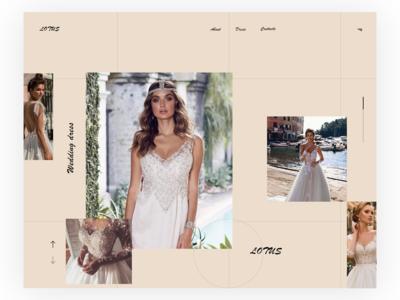 Wedding Dress Web UI