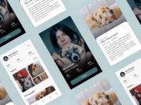 Blog Mobile App UI