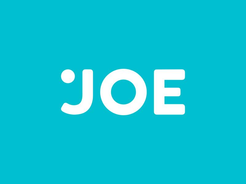 JOE hey debashis hey dribbble debut dribbble debut personal logo personal mark joe